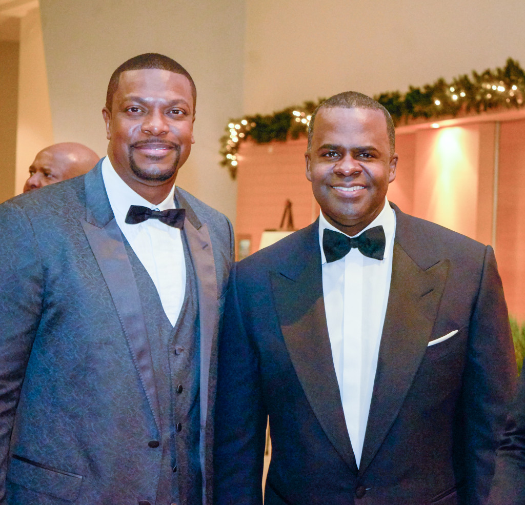 Atlanta Mayor Kasim Reed (center) with Chris Tucker (left) Photo: @Zeribamedia