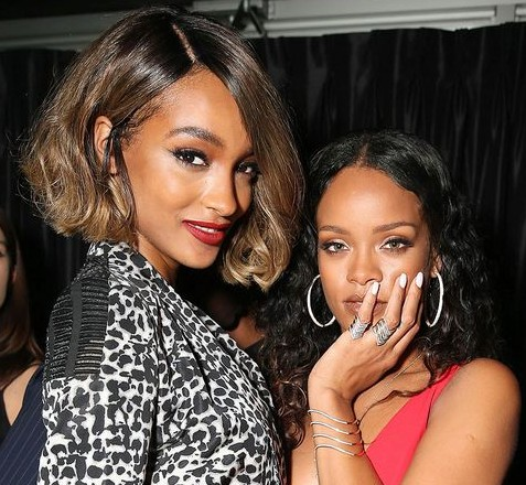 Rihanna and Jourdan are good friends - did she sacrifice her spot on VS for her pal?