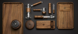 Marley Natural Sustainably Grown American Black Walnut Accessories