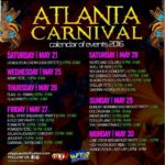 ATLANTA/DECATUR CARNIVAL 2016 – SAT. MAY 28TH 2016