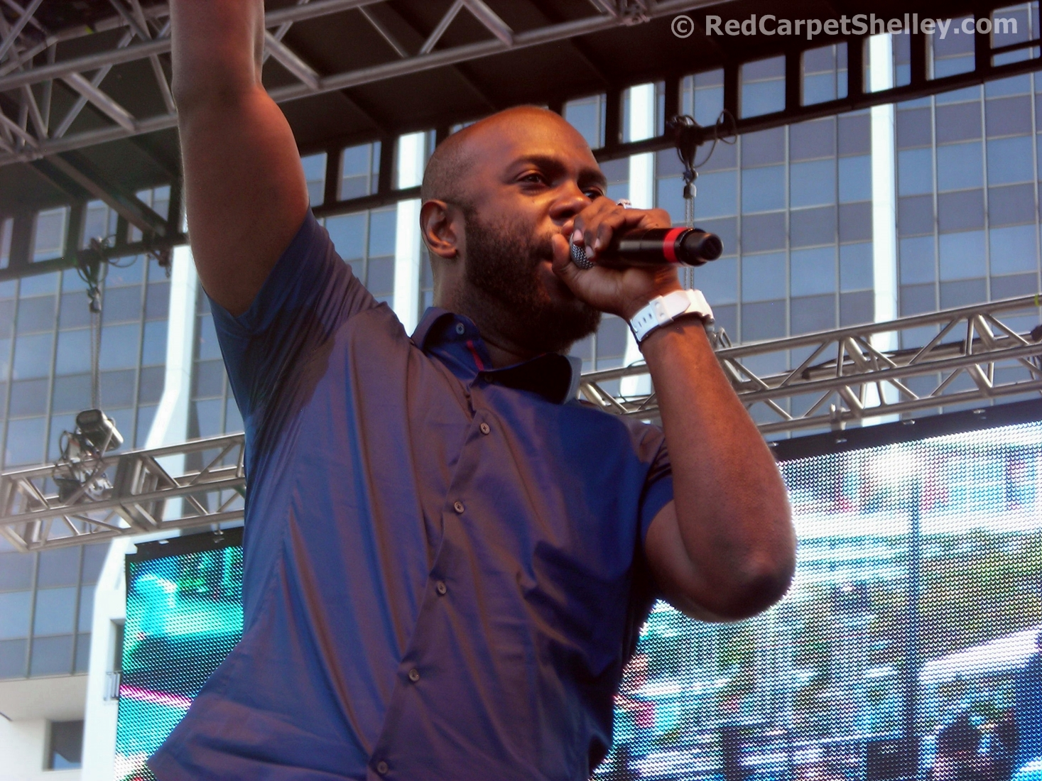 Bunji Garlin performs during Best of the Best 2016