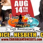 Capleton, Nesbeth, Lyrikal and More LIVE in CONCERT at 11th Annual Caribbean Concert – Sun August 14