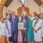 St. Kitts/Nevis UN Ambassador Condor Observes CAHM in New York