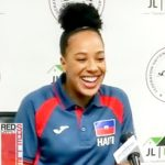 PHOTOS:  Haitian Olympic Swim Team Press Conference with Naomy Grand'Pierre