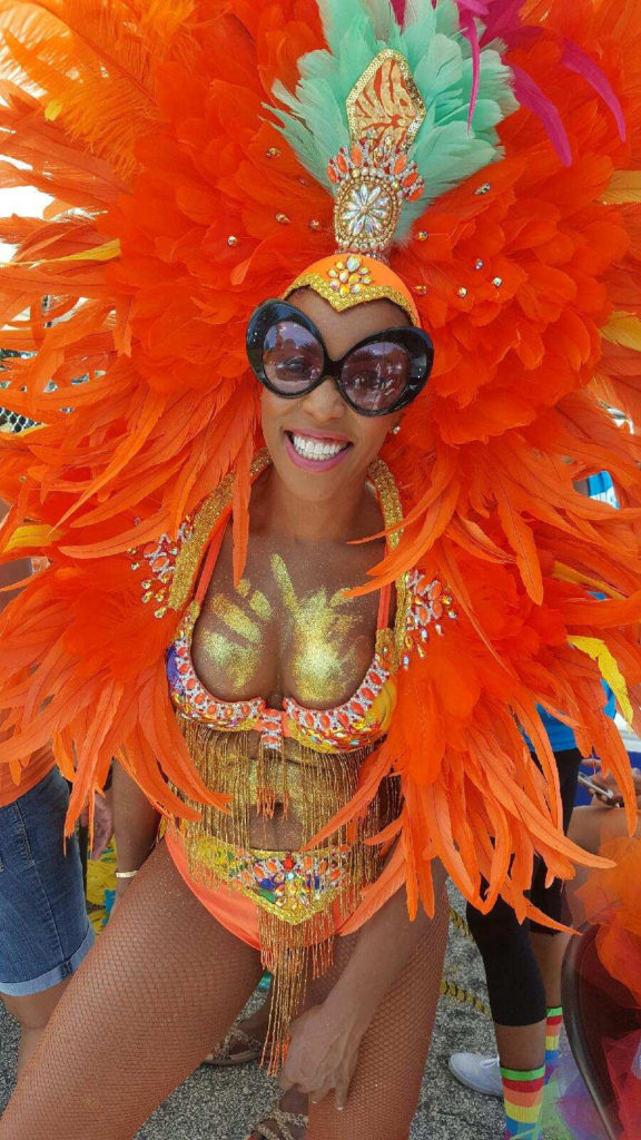 Antiguan Celebrity Stylist June Ambrose Hits the Road with Panyarders Mas