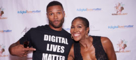 Terri J. Vaughn at #DigitalLivesMatter screening