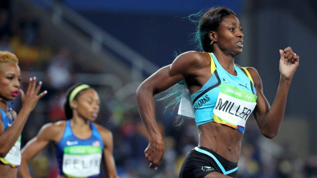 Shaunae Miller Wins Gold at Rio Olympics