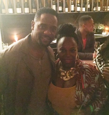 Blair Underwood and I share a moment