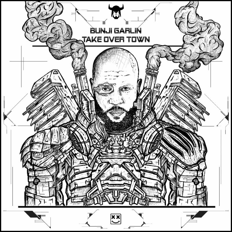 BUNJI GARLIN COMES TO TAKE OVER TOWN  New 3-Song EP Drops Tomorrow (Fri. Sept 2)