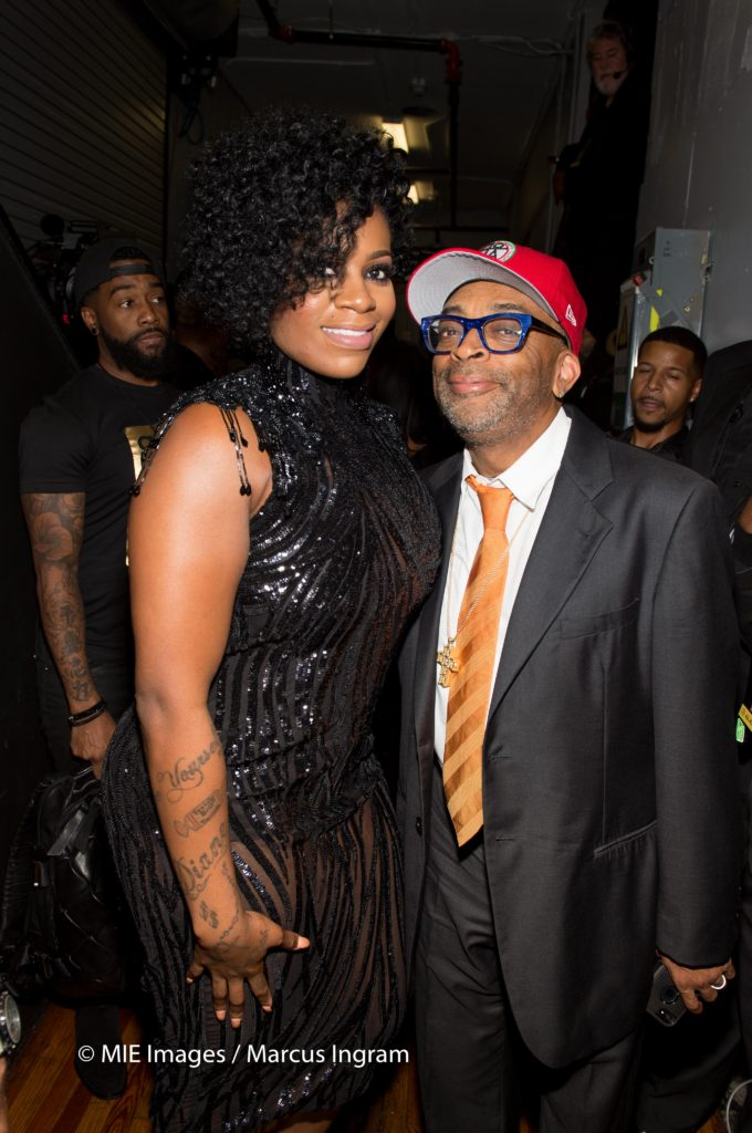 Fantasia and Spike Lee at 2016 Triumph Awards