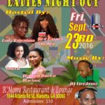 """Queens of Radio"" Presents LADIES NIGHT OUT – FRI Sept 23 (Atlanta GA)"