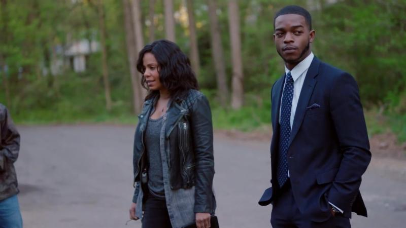 "Sanaa Lathan and Stephan James star in Fox TV's new series ""Shots Fired"""