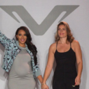 Angela Simmons at Vipe Activewear NYFW Show S/S 17