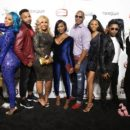 Cast (L to R) Ramsey, Danni, Perry, Chelley, Coco, Montana, Baby girl Silas, inkman