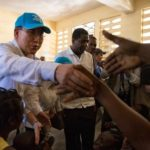 UN Secretary General Visits Haiti in Aftermath of Hurricane Matthew