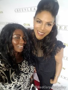 Greenleaf star Merle Dandridge (right) and Red Carpet Shelley