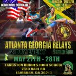 Atlanta Georgia Relays International Track Meet, Bigger and Better on May 27-28-2017