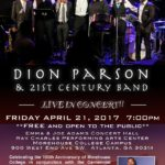 Dion Parson and the 21st Century Band from the US Virgin Islands With Melvin Jones '01 at Morehouse FRI 4/21