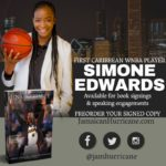 First Caribbean WNBA Player Simone 'Jamaican Hurricane' Edwards to serve as National Spokesperson for Caribbean American Heritage Month, June 2017