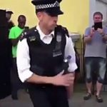 VIDEO:  Police Officer Shows Off His Dance Moves at Notting Hill Carnival