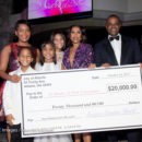 Atlanta Mayor Kasim Reed surprised Dr. Jackie with a $20,000 donation Photo: Marcus Ingram