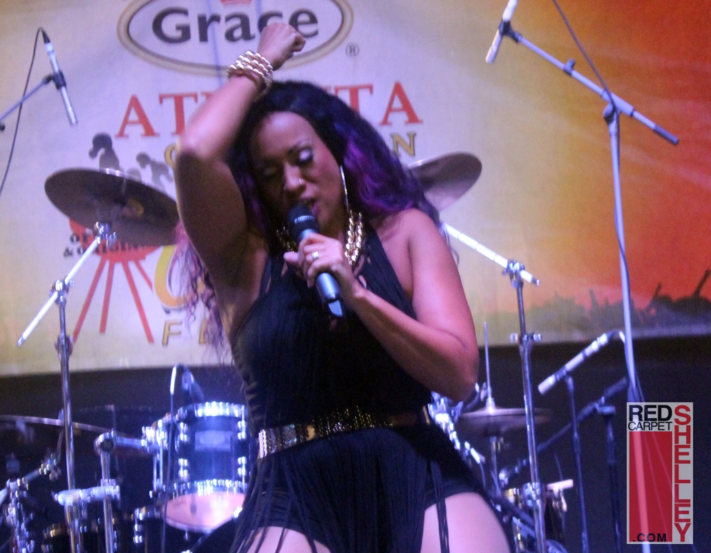 Alison HInds at Atlanta Caribbean Jerkfest 2017