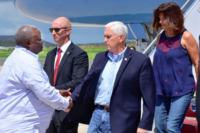 Gov Mapp and VP Pence
