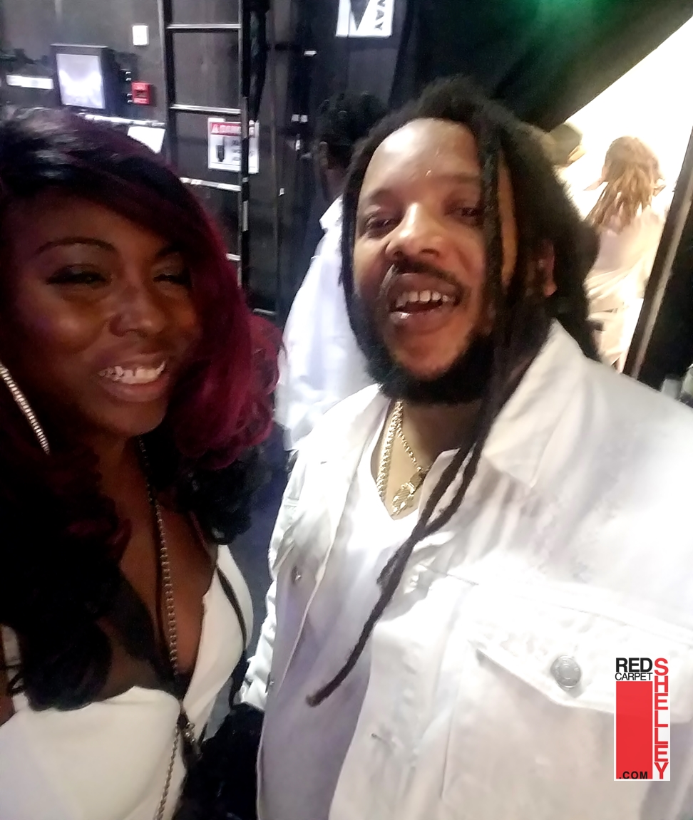 Stephen Marley and Red Carpet Shelley