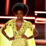 Miss Jamaica Universe Sports Afro And Redefines Beauty at Miss Universe Contest