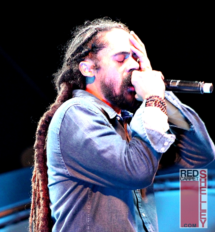 "Damian ""Jr. Gong"" Marley performs during Welcome to Jamrock Reggae Cruise 2017"