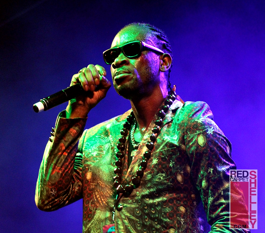 Bounty Killer performs aboard Welcome to Jamrock Cruise 2017 PHOTO: RedCarpetShelley.com