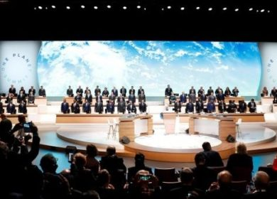 Session of the One Planet Summit at the Seine Musicale venue in Boulogne-Billancourt, near Paris, France December 12, 2017. | Photo: Reuters