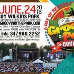 Groovin' In The Park Concert 2018 – SUN June 24