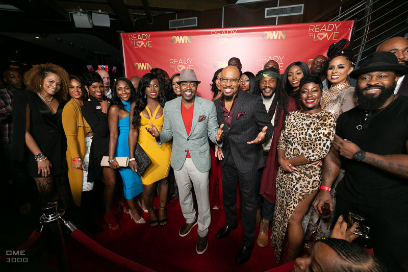 "Full cast of OWN TV's ""Ready to Love"" with Will Packer (PHOTO:  Chris Mitchell)"