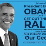President Obama to Visit Georgia for A Get Out the Vote Rally with Stacey Abrams and Democratic Candidates Across Georgia