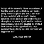Buju Banton Sends Heartfelt Social Media Message As His Pending Release Nears