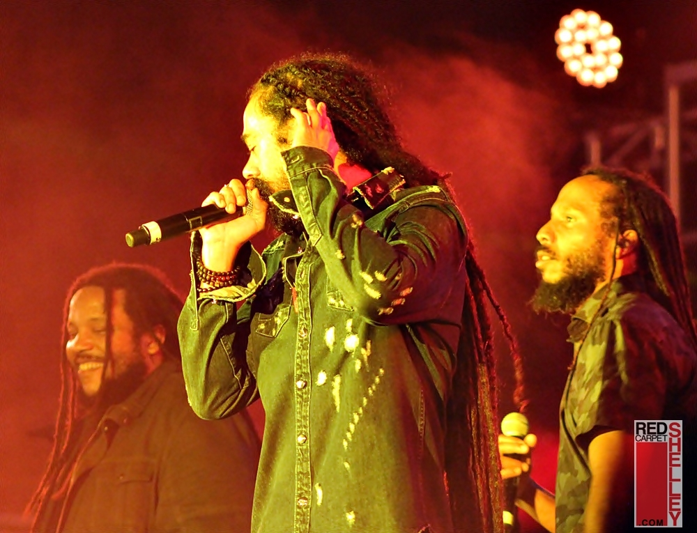 The Marley Brothers' historic performance during Jamrock 2018 (photo: Red Carpet Shelley)