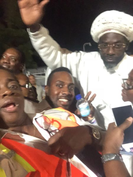 Buju Banton arrives in Jamaica