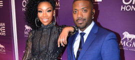 Brandy and Ray J at the Urban One Honors Photo Credit: Antoine DeBrill