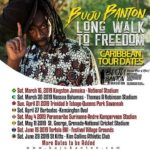 Buju Banton Long Walk to Freedom Caribbean Tour Dates