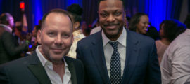 Greg Johnson and Chris Tucker 2