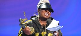 Missy Elliott Accepts the 2019 Michael Jackson Video Vanguard Award. PHOTO: Jeff Kravitz/FilmMagic