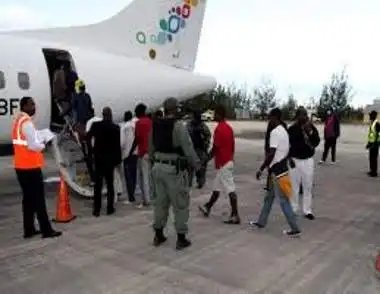 Haitians Deported from the Bahamas