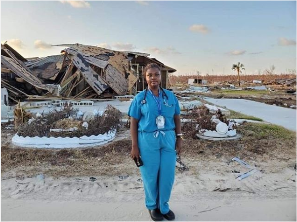 Dr Shaneeta Johnson Visits the Bahamas after Hurricane Dorian