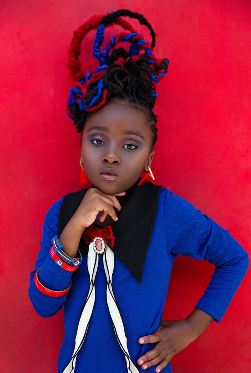 "LeeLee Jean ""The Haitian Princess"" Photo Credit: Creative Soul."