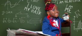 "LeeLee Jean ""The Haitian Princess"" and niece to award-winning artist Wyclef Jean serves as the official ambassador for Natural Bunch Kids' Locs of Love product release. Photo Credit: Creative Soul."