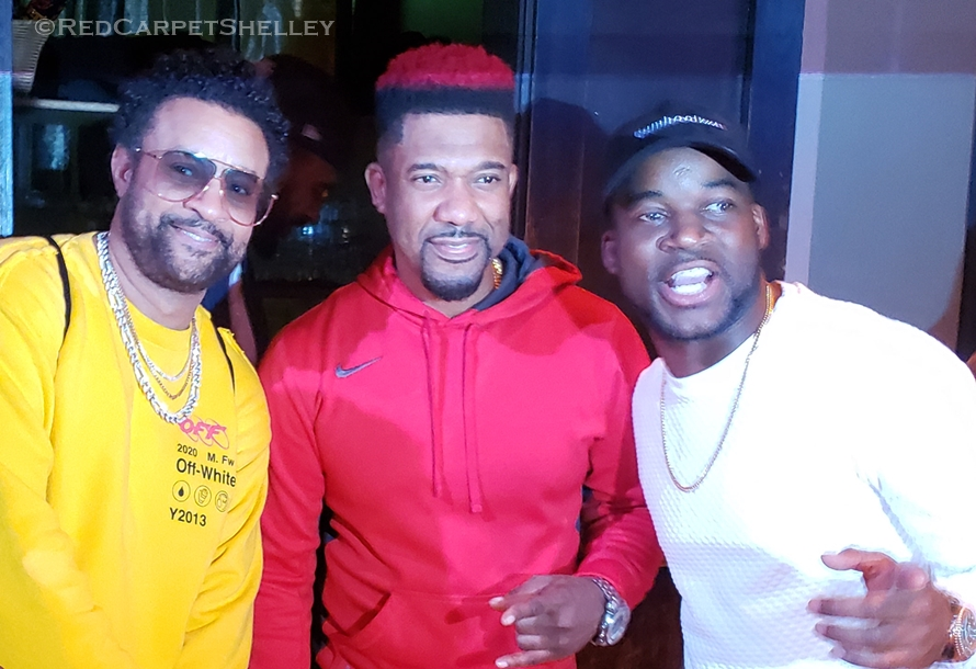 Shaggy, DJ Norie, Noah Powa attend Tarrus Riley's BLEM Session in NYC. Photo: redcarpetshelley.com