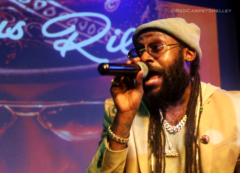 Tarrus Riley BLEM Session at SOBs in NYC - PHOTO: redcarpetshelley.com