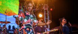 "Koffee Performs Aboard Welcome to Jamrock Reggae Cruise 2019 - Credit: Tiesha ""Tizzy Tokyo"" Pough"